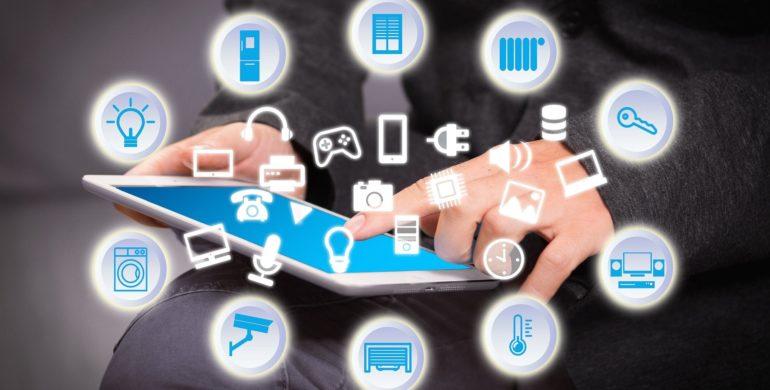 Iot, Internet of things, haushaltselektronik, tablet