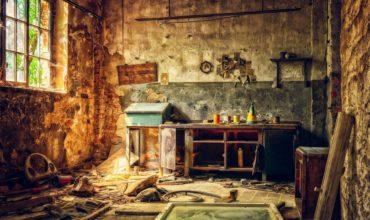 Verhalten bei Einbruch, durchwültes Zimmer